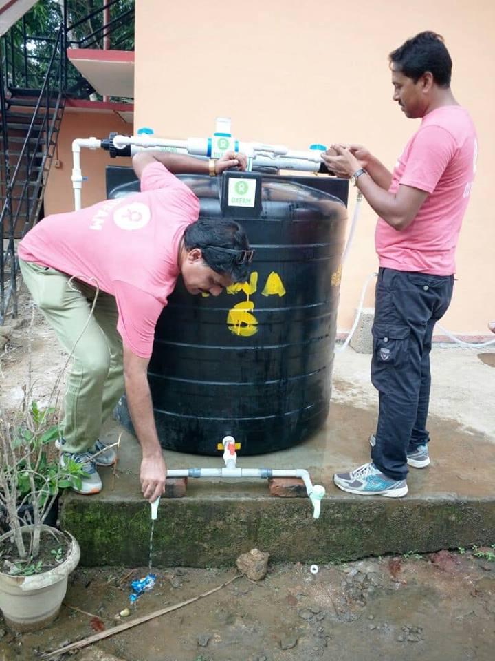 Kerala Flood Response-2018 - AquaPlus Water Purifiers (Pvt) Ltd
